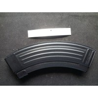 Croatian AK-47 10/30 10Rd or 15/30 15Rd Blued Steel Blocked BHO 7.62x39mm Magazine