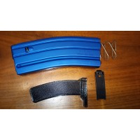 C Products Duramag AR 15 .223/5.56 Blue Aluminum 10/30 10Rd or 15/30 15Rd Blocked Mag