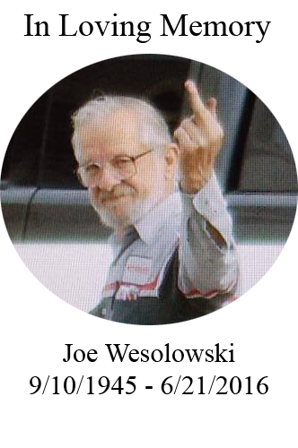 In memory of my father Joe Wesolowski